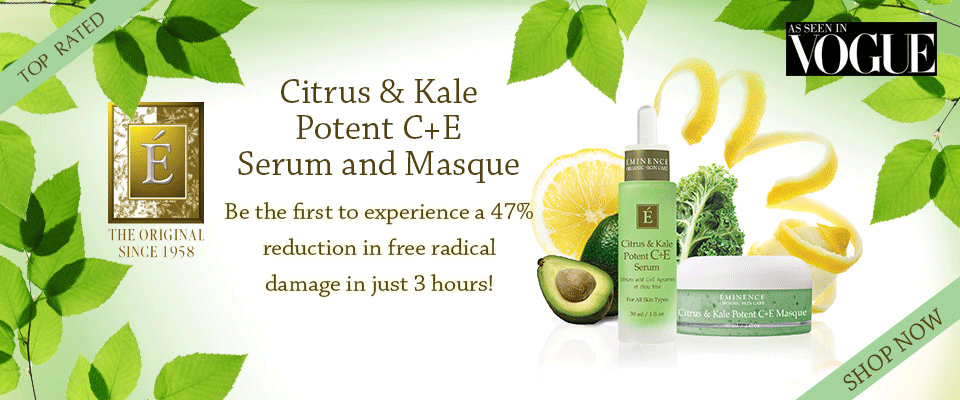 Eminence Citrus and Kale Potent C + E