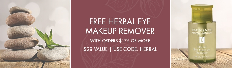 Free Eminence Organics Herbal Eye Makeup Remover